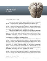 Medical: Brain In Gray Letterhead Template #02541