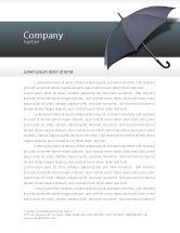 Business Concepts: Umbrella Letterhead Template #02562
