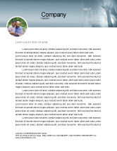 Religious/Spiritual: Help Letterhead Template #02584