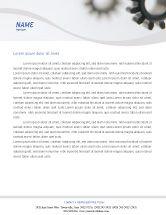 Utilities/Industrial: Gears Letterhead Template #02605
