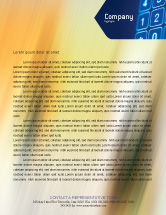 Telecommunication: Touchpad Letterhead Template #02667