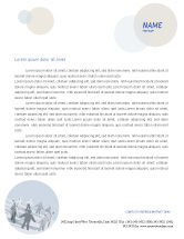Business Concepts: Community Letterhead Template #02677