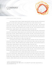 Business Concepts: Hooks Letterhead Template #02722