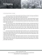 Construction: Megalopolis Letterhead Template #02726