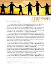Religious/Spiritual: Family Letterhead Template #02761