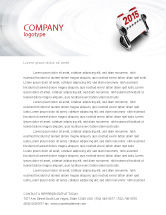 Business Concepts: Throw-Over for 2015 Letterhead Template #02834