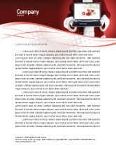 Holiday/Special Occasion: Christmas Presents Online Letterhead Template #02852