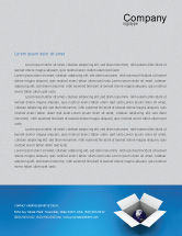 Global: Globe In The Box Letterhead Template #02864