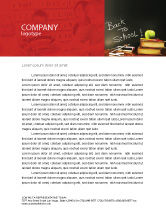 Education & Training: Back To School Letterhead Template #02867