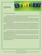 Business Concepts: Success Letterhead Template #02869