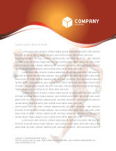 Medical: Muscular System Letterhead Template #02911