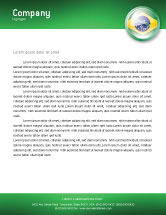 Flags/International: Brazil Sign Letterhead Template #02926