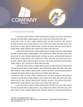 Business Concepts: Real Estate Rate Letterhead Template #02929