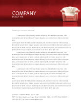 Careers/Industry: Comfort Chair Letterhead Template #02933