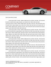 Cars/Transportation: Supercar Letterhead Template #02939