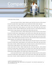 Medical: Reanimatie-afdeling Briefpapier Template #02944