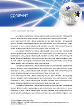 Global: Jigsaw World Letterhead Template #02945