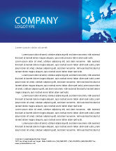 Global: Europe Letterhead Template #02988