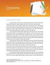 Education & Training: Notebook Letterhead Template #02990