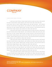 Financial/Accounting: Rate of Exchange Letterhead Template #03002