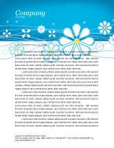 Abstract/Textures: Spring Letterhead Template #03011