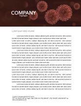 Medical: Red Corpuscles Letterhead Template #03014