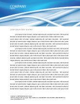 Telecommunication: Art Design Letterhead Template #03016