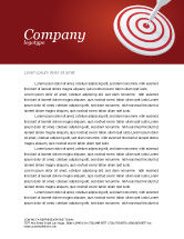 Consulting: Purpose Letterhead Template #03017