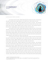 Business Concepts: Thoughts Letterhead Template #03019