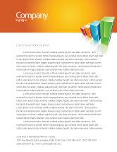 Business Concepts: Rating Histogram Letterhead Template #03026