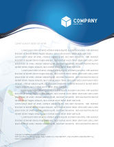 Technology, Science & Computers: Genes Letterhead Template #03031