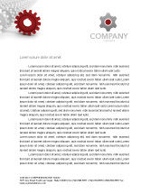 Business Concepts: Detail Letterhead Template #03047