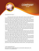 Abstract/Textures: Licht Briefpapier Template #03064
