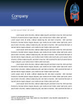 Medical: Bowels Letterhead Template #03065