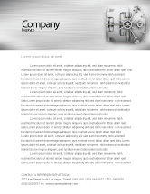 Technology, Science & Computers: Bank Safe Letterhead Template #03078