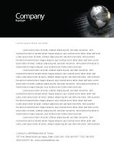 Global: Globe Of Steel Letterhead Template #03141