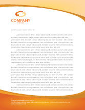 Business Concepts: Clocks Letterhead Template #03146