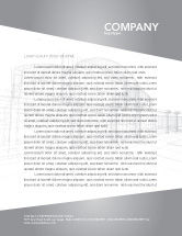Construction: Building Design Letterhead Template #03154