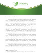 Agriculture and Animals: Tropical Green Frog Letterhead Template #03160
