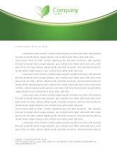 Agriculture and Animals: Templat Kop Surat Katak Hijau Tropis #03160