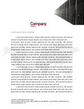 Technology, Science & Computers: Server Room Letterhead Template #03161