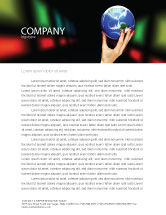 Global: Global Power Letterhead Template #03167