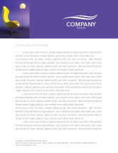 Art & Entertainment: Comfort Letterhead Template #03182