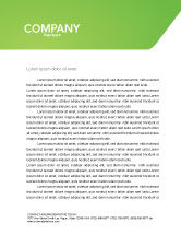 Technology, Science & Computers: Artificial Intelligence Letterhead Template #03201