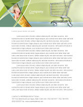 Financial/Accounting: Shopping Cart On Olive Background Letterhead Template #03208