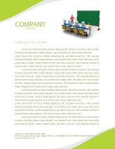 Education & Training: Teaching Class Letterhead Template #03209