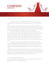Careers/Industry: Red Carpet Path Letterhead Template #03221