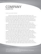 Careers/Industry: Business Teamwork Letterhead Template #03228
