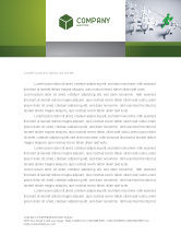 Business Concepts: Business Work Letterhead Template #03229