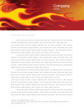 Abstract/Textures: Fire Flame Letterhead Template #03234